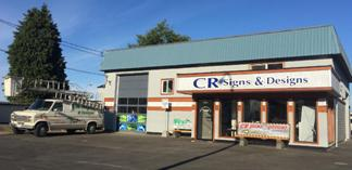 CR Signs located in Campbell River